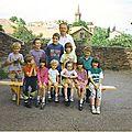 ECOLE DU VIALA 1992 DERNIERE CLASSE AVANT FERMETURE DE L'ECOLE