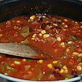 Gratin de gnocchi sauce chili