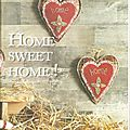 * Coeurs Home Sweet Home *