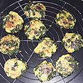 les galettes de chou-kale