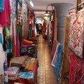 A Port-Louis, le marché aux étoffes...