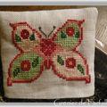 Papillon sac à lavande 2009