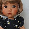 Les robes d'été de Sophie , Bjd de Meadow dolls ( partie 2 )