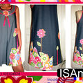 «Flowers power» collector n°1105106024 Robe multi-saison