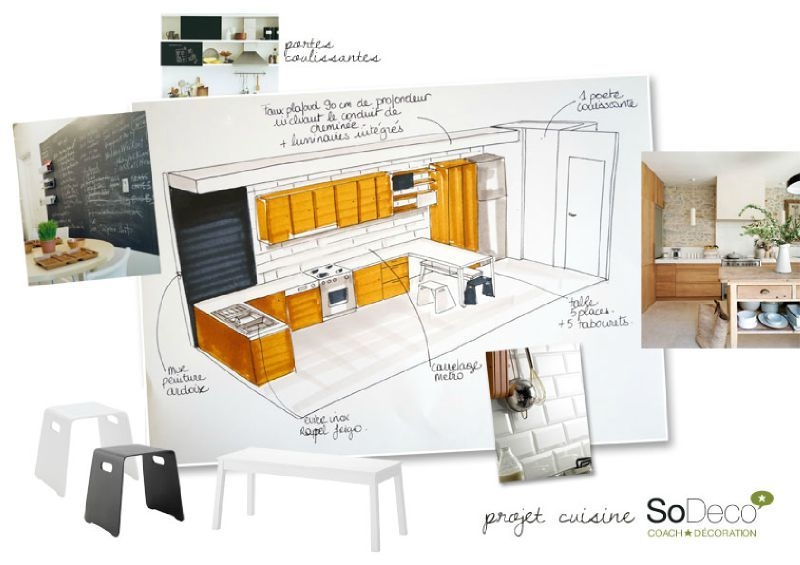 projet cuisine coach deco lille. Black Bedroom Furniture Sets. Home Design Ideas