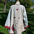 2013-09 veste Nomade blanc avec Noémi