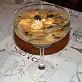 Bouillon de crevettes et champignons shiitaké