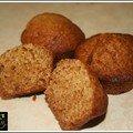 Délicieux et simplissime muffin au miel et à l'orange