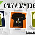 Des tee-shirts pour collecter des fonds pour les <b>bibliothèques</b> britanniques