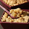 Crumble pomme-banane-cannelle !
