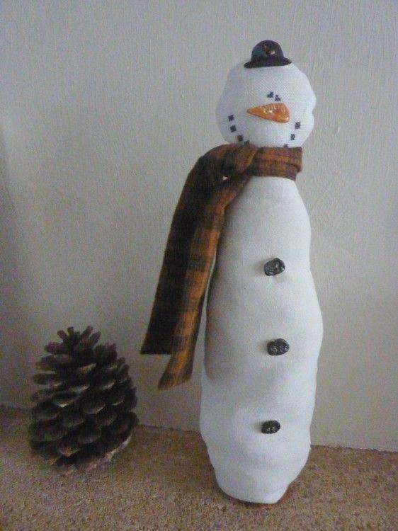 Bonhomme de neige La Garrigue