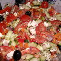 Salade facon grecque
