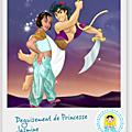 Déguisement de jasmine (8 ans)