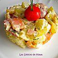 Salade nordique au saumon fumé