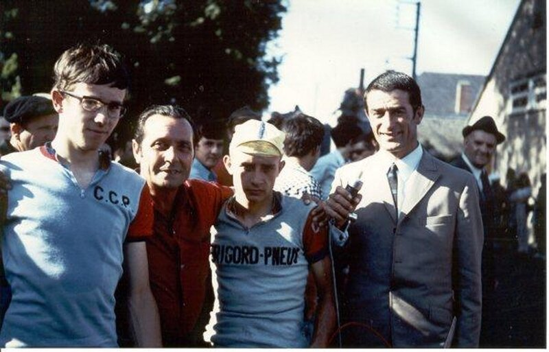 1970 Objat (correze) en 1970
