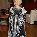 Robe Moyen Age version hiver, 80€