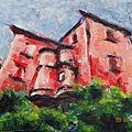 Maison rouge à Sarlat