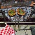 Thon grillé au beurre de montpellier