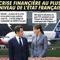 Budget des Sarkozy : La crise financière n'épargne pas le couple présidentiel