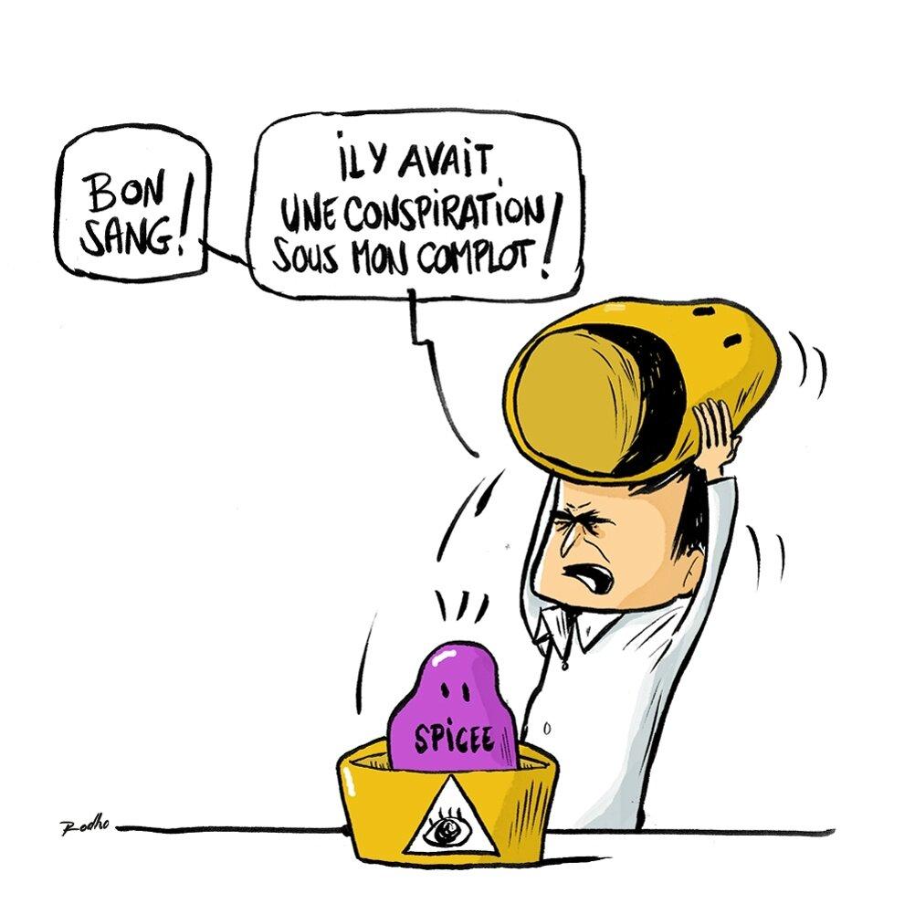 Illustration Doc ConspiHunter pour Spicee