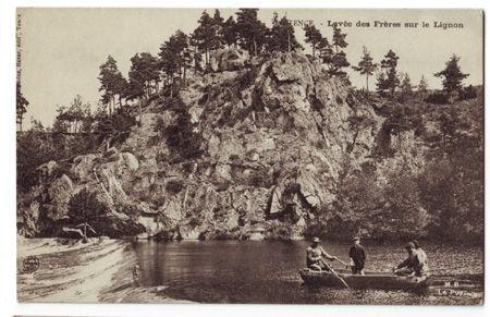 43 - TENCE - Levée des frères sur le Lignon