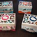 Petites boîtes de pâques...
