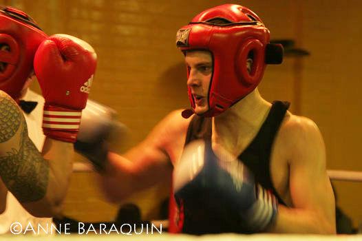 notre boxeur en action!