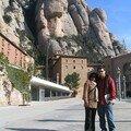 Lovers devant le monastère - Montserrat