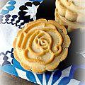 Mooncakes aux amandes, vanille et tonka