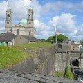 Athlone Church, vue de Athlone Castle