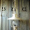 <b>Suspension</b> Lanterne Style Campagne Far West Western