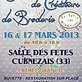 Salon créateurs de broderie cubnezais - (33) 16 et 17 mars 2013)