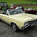 Oldsmobile cutlass 4-4-2 convertible-1965