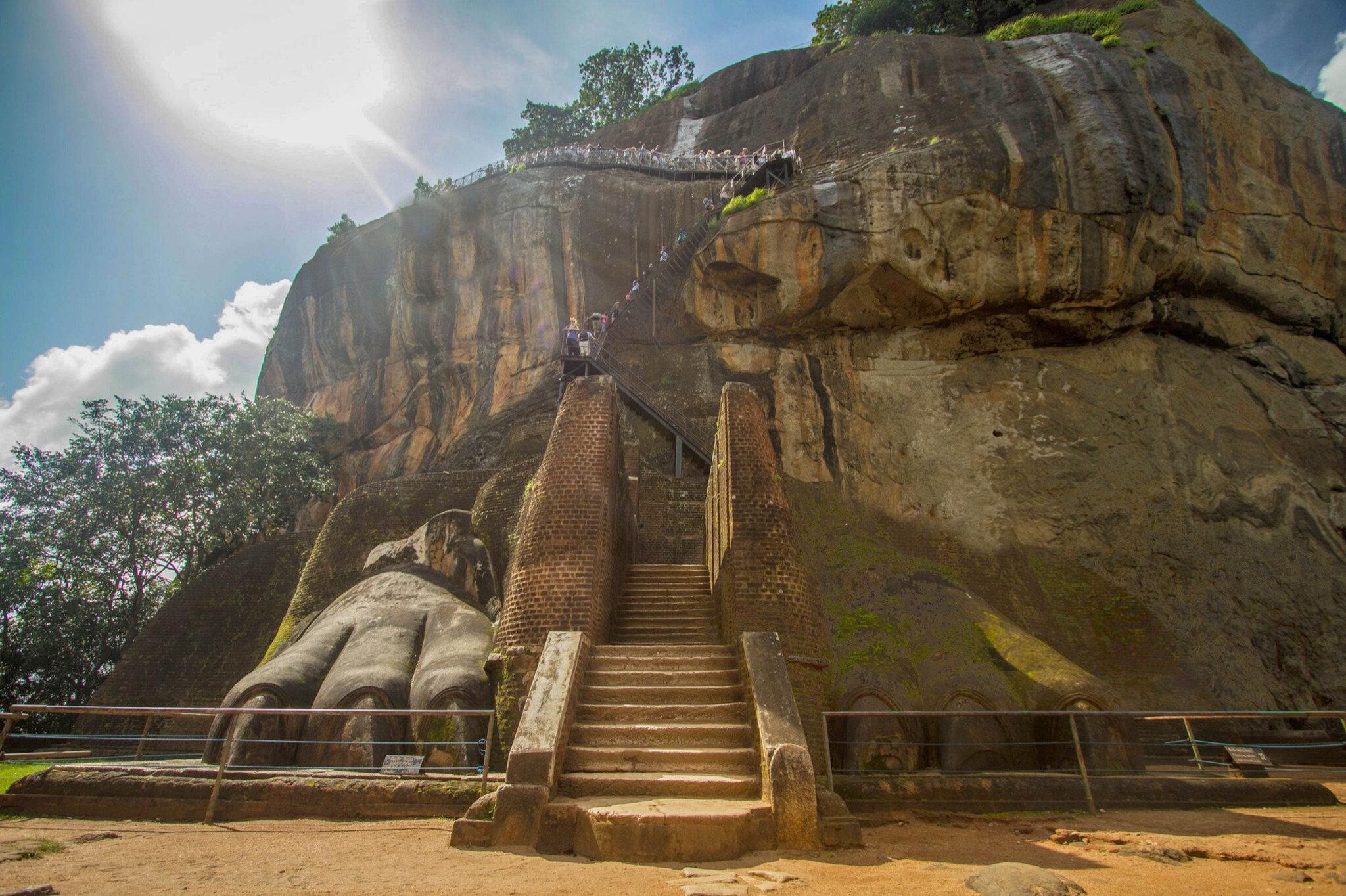 Sri Lanka : Le Rocher du Lion