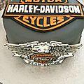 Gateau Harley Davidson