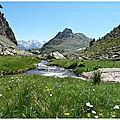 Plateau, vertice(2559 m) et pic d'anayet (2562 m)