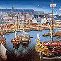 Louisbourg-Port-1744