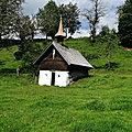 En <b>Forêt</b> <b>Noire</b> -5 .... les chapelles. ...