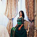 Ravissant <b>caftan</b> moderne vert 2014