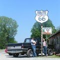Mary-Lou Mary and Jean-Luc Route 66