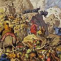 Richesse des Pouilles et de l'Apulie (7/24). Progrès » dans les tueries de masse - Hannibal et la bataille de Cannes.