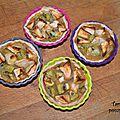 Tartelette pomme/kiwi