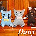 Petits chats et oursons de dany