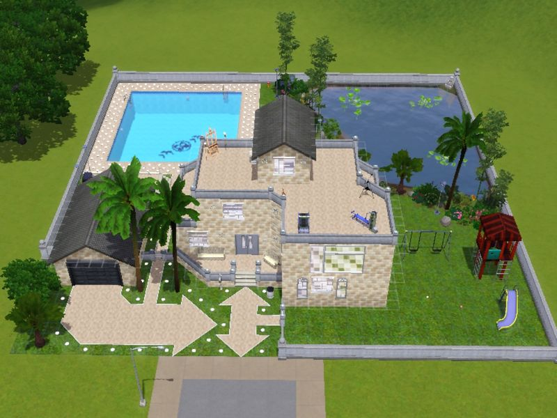 Stary Luxe - SIMS3: MAISON A TELECHARGER GRATUITEMENT!