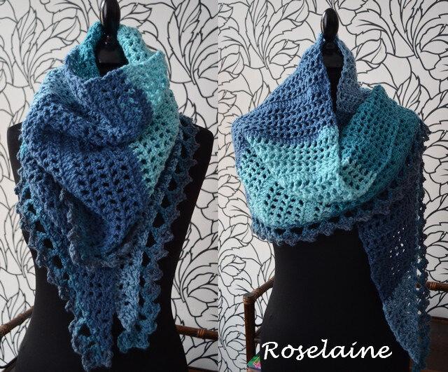 Roselaine Cirrus Shawl 2