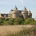 Chateau de suscinio - morbihan - france