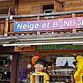 Neige et BONBON Les Gets <b>Haute</b>-<b>Savoie</b> confiserie