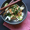 La recette du jeudi: nouilles de riz et maquereaux fumés au poivre