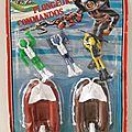 Blister plongeurs commandos marque paris jouets