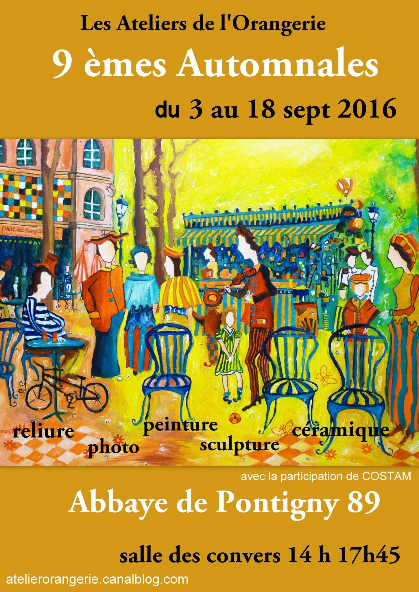 9 èmes AUTOMNALES - Pontigny 2016
